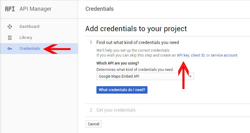 credentials-google-api